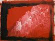 Ann Marie Whitton Painting: Red Army or Rain(1997)