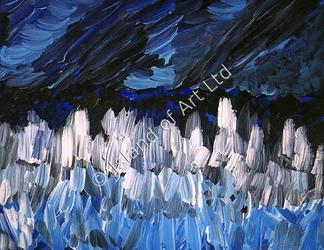 Ann Marie Whitton Painting: Storm (1998)