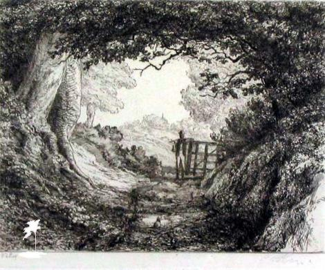 William Holmes May, Through The Woods, Reigate 1890