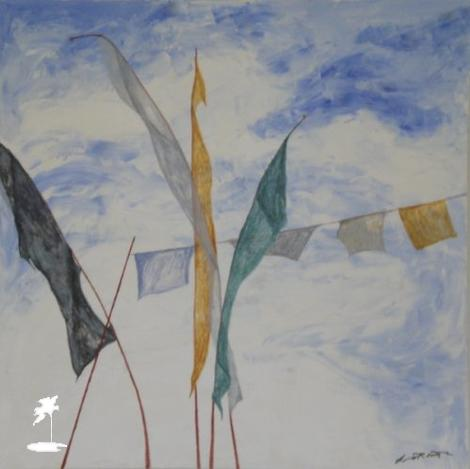 Prayer Flag 2 - Lindsay Rough